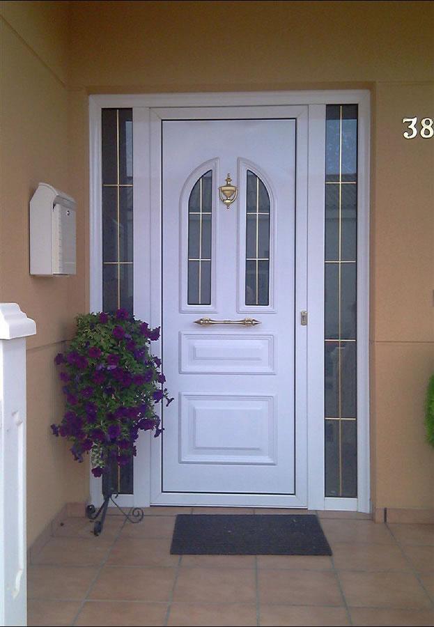 Puertas metalicas exteriores amazing puerta entrada for Puertas metalicas exterior